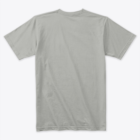 Grand Cru T Shirt For Wine Lovers Light Grey T-Shirt Back