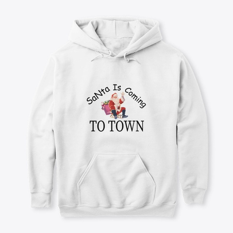 Merry Christmas Hoodie 2020 White T-Shirt Front