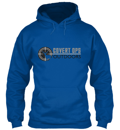 Covert Ops Outdoors Royal T-Shirt Front