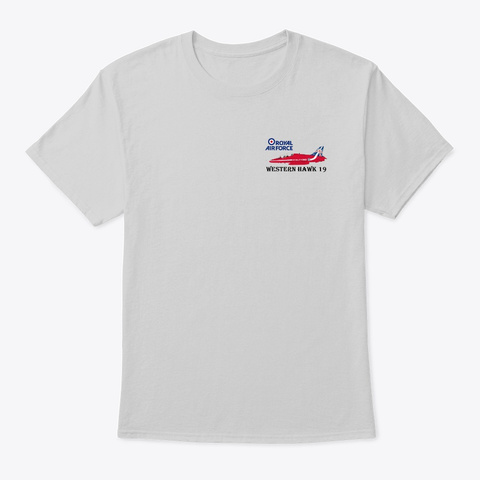 Western Hawk 19 Light Steel T-Shirt Front
