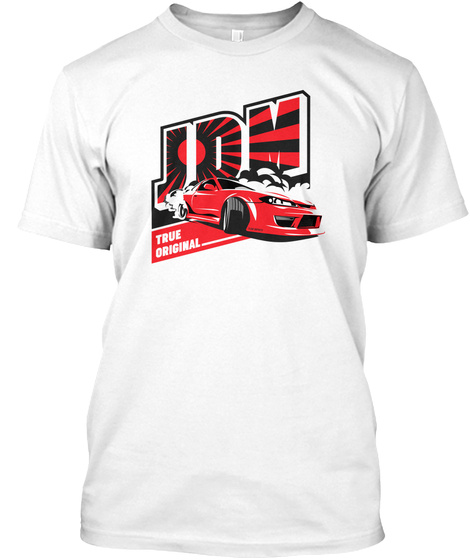 Drift Legend White T-Shirt Front