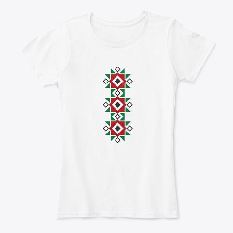 Shevica Shirt White T-Shirt Front
