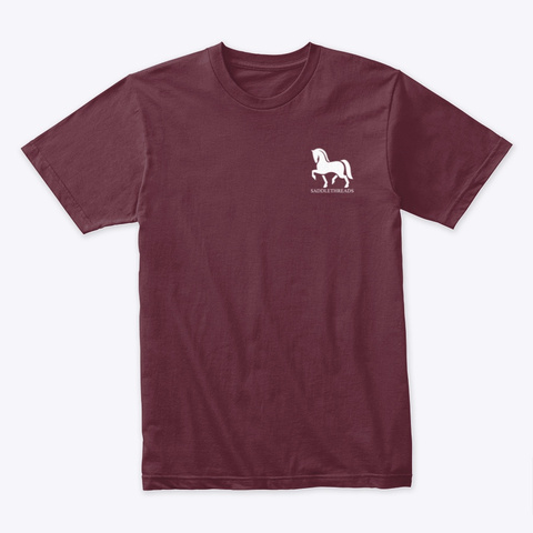 Thankful   Pumpkin Maroon T-Shirt Front