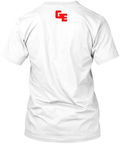 Ge White T-Shirt Back