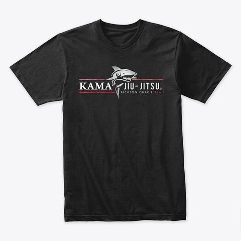 Official Kama Jiu Jitsu Premium T Shirt Black T-Shirt Front