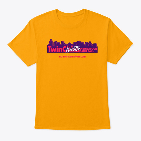 Twin C Idiots Gold T-Shirt Front
