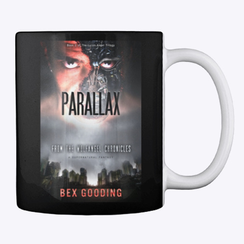 Parallax Mug Black T-Shirt Back