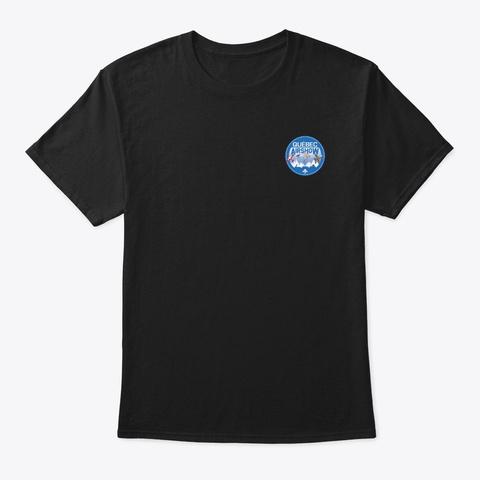 Québec Airshow Black T-Shirt Front