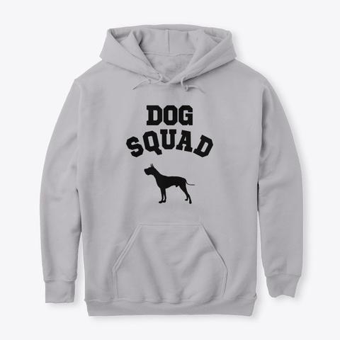 Dog Squad Great Dane Sport Grey T-Shirt Front