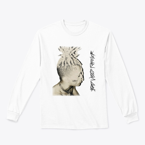 Bad Vibes Forever T Shirts White T-Shirt Front
