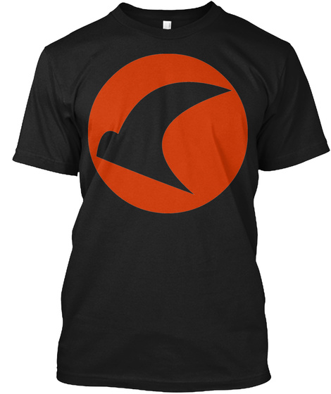 Falcon 3rd Black T-Shirt Front