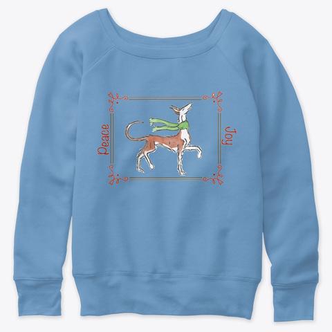 Wire Ibizan Holiday Shirt Green Blue Triblend  T-Shirt Front