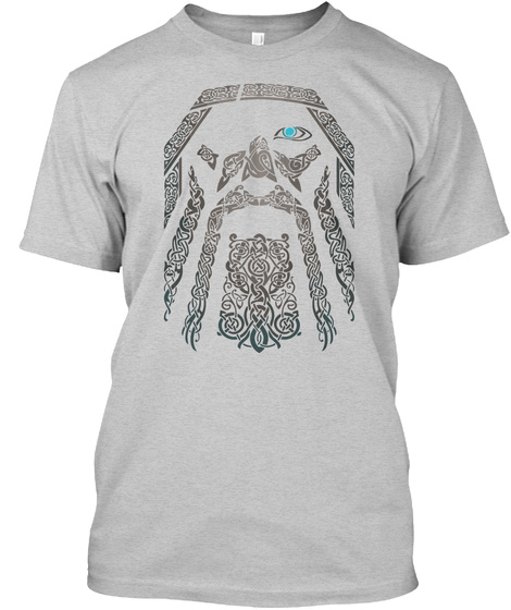 Relauncehd : Odin Tshirt (Europe) Light Steel T-Shirt Front
