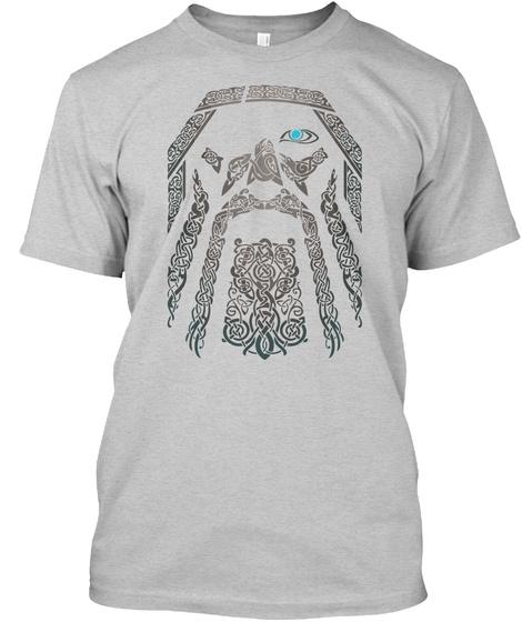 Relauncehd : Odin Tshirt (Europe) Light Steel T-Shirt Front