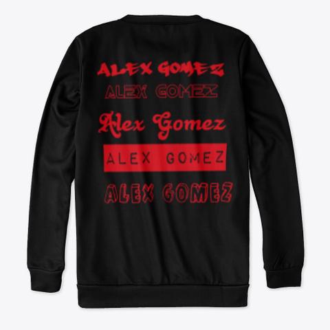 """Foreign Languages """"Alex Gomez"""" Black T-Shirt Back"""