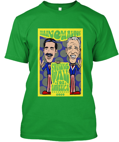 Prainowalton Standing Tall For Ameria 2020 Kelly Green T-Shirt Front