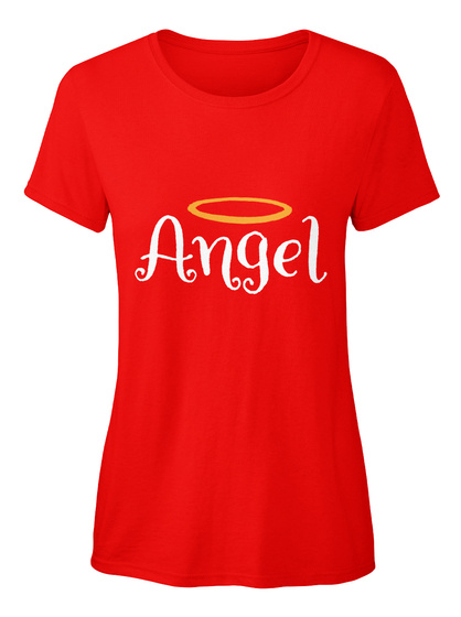 Angel Red T-Shirt Front
