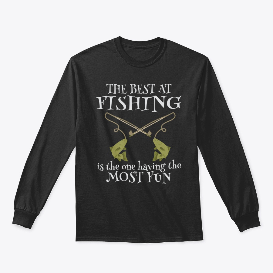 Best At Fishing Fun Unisex Tshirt
