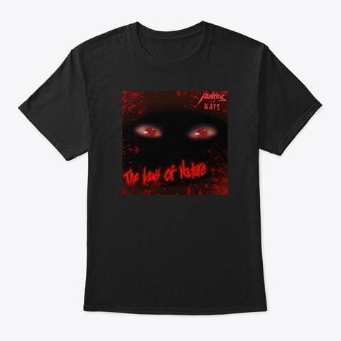 The Laws Of Nature Black T-Shirt Front