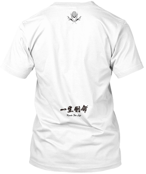 Kends For Life White T-Shirt Back