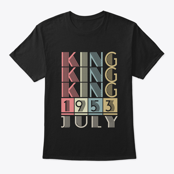 1953 King Are Born In July Products