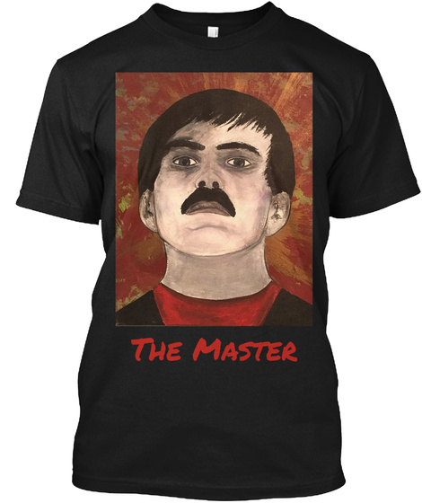 The Master Black T-Shirt Front