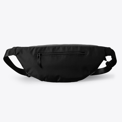 "Tjr ""Cal Country""  Fanny Pack Charcoal T-Shirt Back"