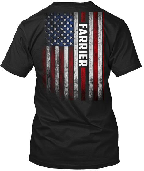 Proud Farrier Black T-Shirt Back