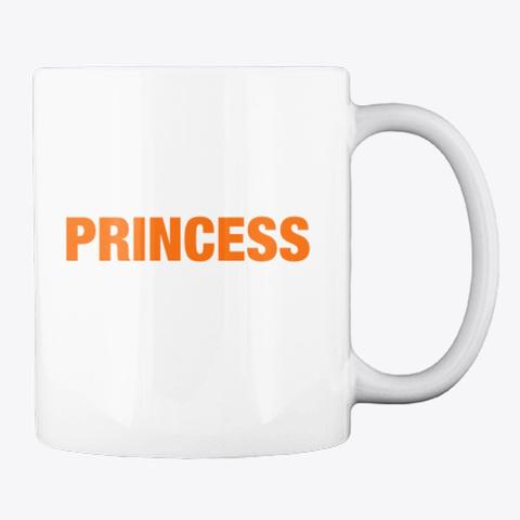 #52 Devotionals I Am A Princess  White T-Shirt Back