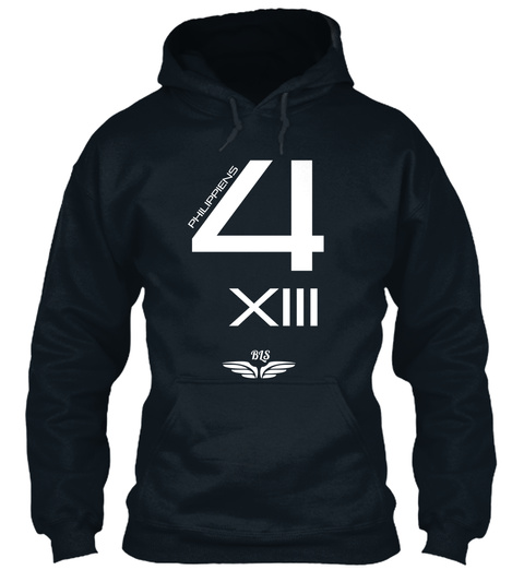 Phillipines 4 Xiii Bis French Navy Sweatshirt Front