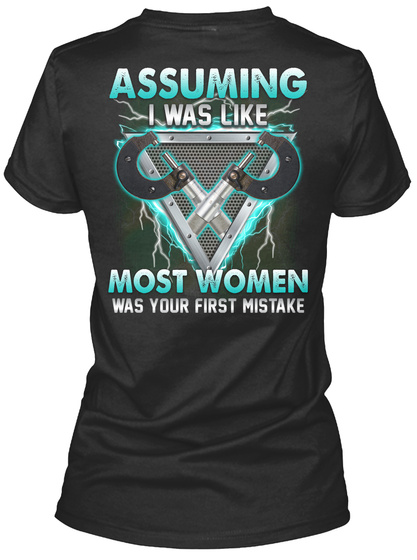 Awesome Machinist Black T-Shirt Back