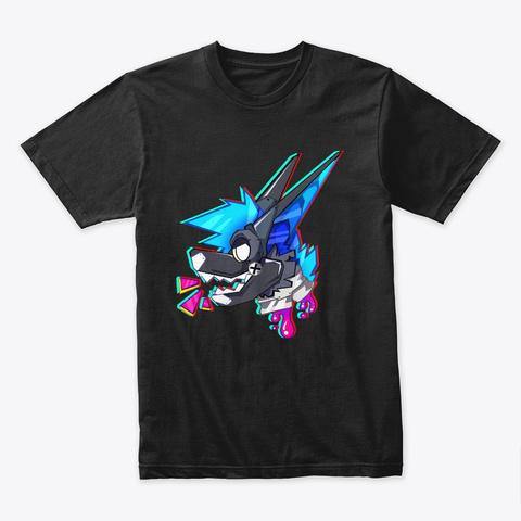 Robo Mute Black T-Shirt Front