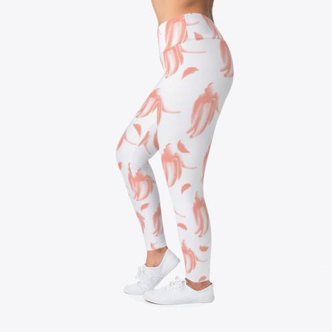 Pink Banana Pattern  Standard T-Shirt Left