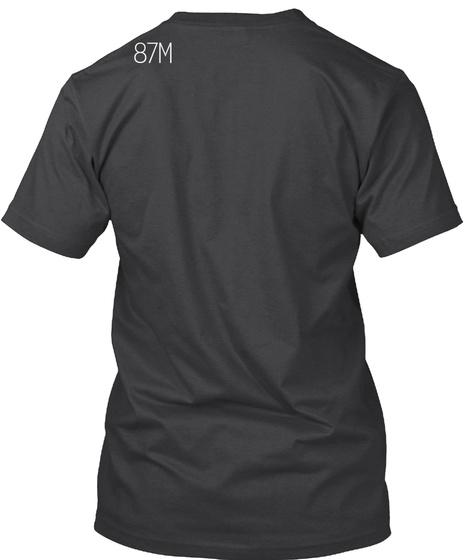 87 M Dark Grey Heather T-Shirt Back