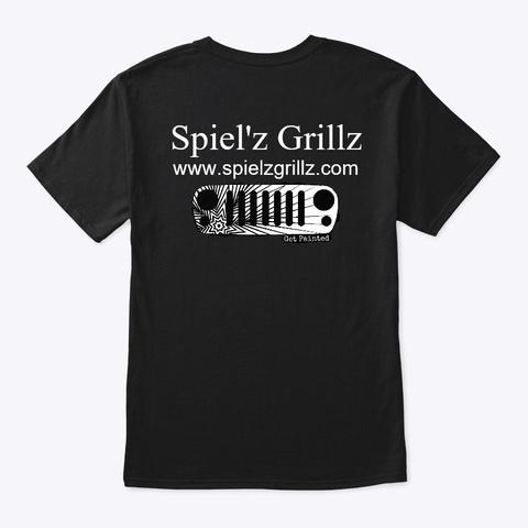 Spiel'z Swag! Black T-Shirt Back