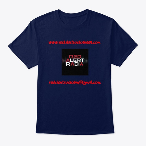 Red Alert Store 1 Navy T-Shirt Front