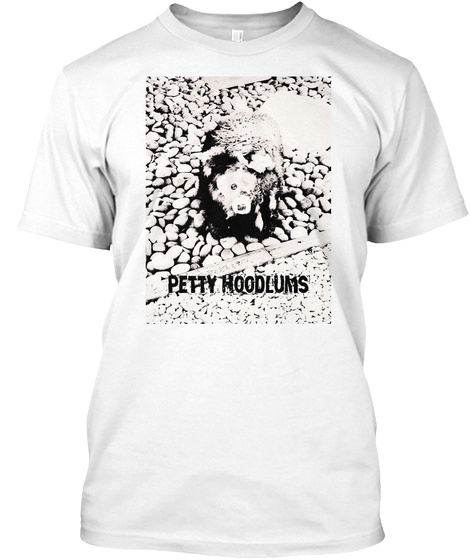 Petty Hoodlums White T-Shirt Front
