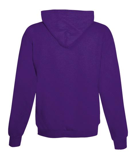 Pinefam   Zip Up Hoodie Purple T-Shirt Back