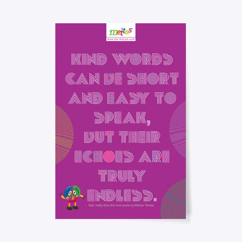 Spin – Mettas Quote Poster Standard T-Shirt Front