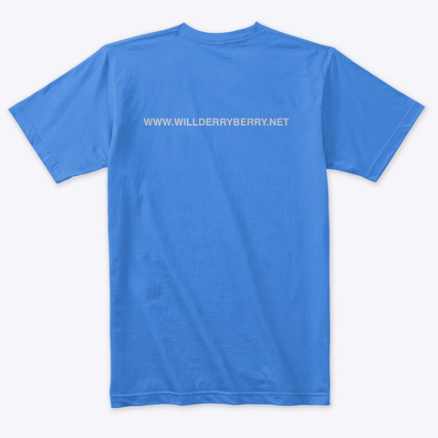Will Derryberry Guitar Vintage Royal T-Shirt Back