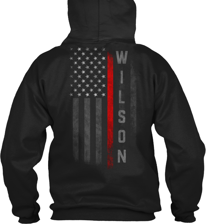 Wilson Family Thin Red Line LongSleeve Tee