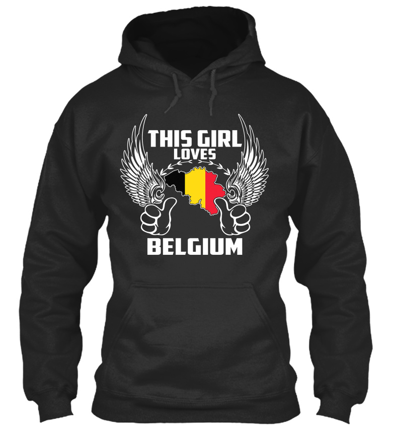 Cette fille fille fille aime Belgique-Standard College Sweat à capuche 60a6fa