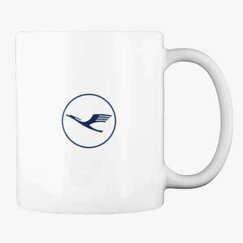 Lufthansa   Mug White T-Shirt Back