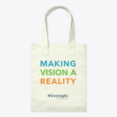 Making Vision A Reality Tote Bag Natural T-Shirt Front