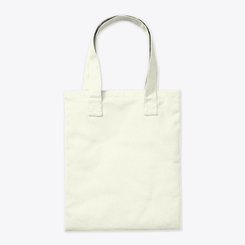 Eat To Heal Not To Kill Bag Natural Tote Bag Back