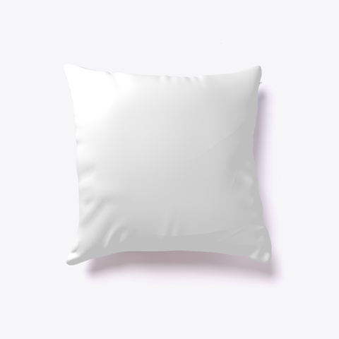 Horse Shaped Throw Pillow, Horse Pillow  White T-Shirt Back