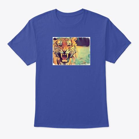 Tiger 2t Deep Royal T-Shirt Front