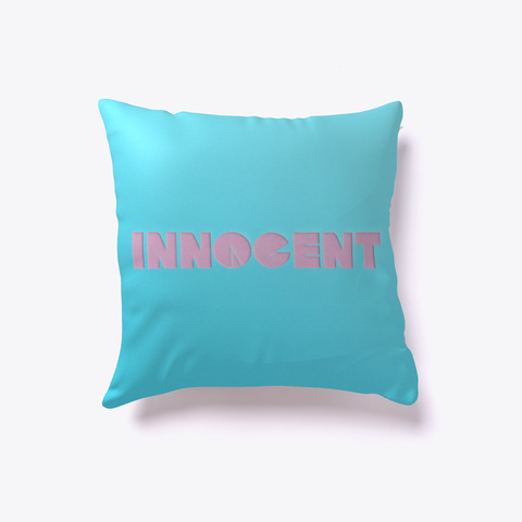 Innocent Pillow White T-Shirt Back