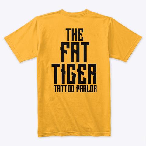 Fattigertattoo Gold T-Shirt Back
