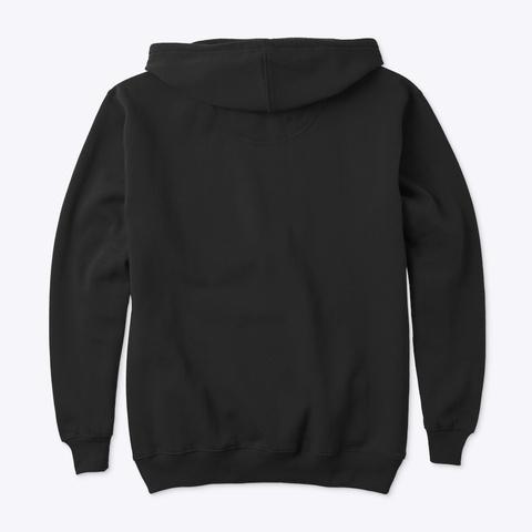 Black Electrician U Hoodie Black T-Shirt Back